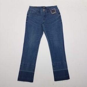 Nanette Lepore Nolita Skinny Jeans Sz 4 Blue G8